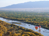 Hot Air Balloons  Albuquerque  New Mexico  USA