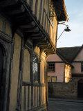 Tudor Shops and Priory Farm  Lavenham  Suffolk  England  United Kingdom