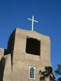 San Miguel Chapel Detail  Mission Church Built by Thalcala Indians  Rebuilt 1710  Santa Fe