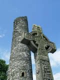 West High Cross and 10th Century Tower  Monasterboice  County Louth  Leinster  Republic of Ireland