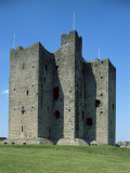 Trim Castle  Dating from the 12th Century  and Location for Film Braveheart  Leinster