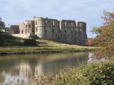 Carew Castle  Built in the 12th Century and Abandoned in 1690  Pembrokeshire  Wales