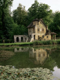 Make-Believe Mill in Marie Antoinette's Hameau  Petit Trianon  Versailles  Ile De France