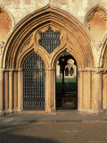 Norwich Cathedral Cloisters  Dating from 13th to 15th Centuries  Norwich  Norfolk  England