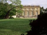 Petit Manoir from Gardens  Chateau De Versailles  Unesco World Heritage Site  Ile De France  France