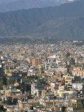 Urban Sprawl in Western Valley  Kathmandu  Nepal