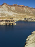 Band-I-Zulfiqar the Main Lake  Afghanistan's First National Park  Afghanistan