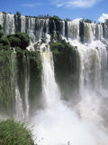 Iguassu Falls  Iguazu National Park  Unesco World Heritage Site  Argentina  South America