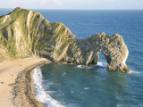 Wave-Cut Arch in Limestone Headland  Durdle Door  Jurassic Heritage Coast  Isle of Purbeck