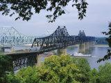 Mississippi River  Vicksburg  Mississippi  USA