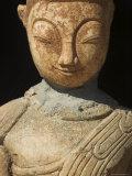 Ancient Buddha Image  Kakku Buddhist Ruins  Shan State  Myanmar (Burma)