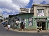 Street Scene  Addis Ababa  Ethiopia  Africa