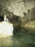 Lake of the Clouds  Carlsbad Caverns National Park  Unesco World Heritage Site  USA