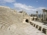 The Theatre  Dougga (Thugga)  Unesco World Heritage Site  Tunisia  North Africa  Africa