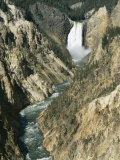 Lower Falls 94M High  Grand Canyon of the Yellowstone River  Yellowstone National Park  Wyoming