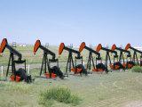 Oil Pumps (Nodding Donkeys) for Sale at Oilfield Supply Merchants  Shelby  Montana  USA