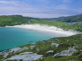 Beach and Dunes of Shell-Sand  Huisinis  North Harris  Outer Hebrides  Scotland  UK