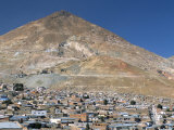 Cerro Rico  Richest Hill on Earth  Historical Site of Major Silver Mining  Potosi  Bolivia