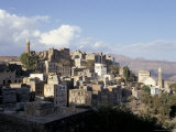 View of Town  Manakhah  Yemen  Middle East