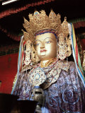Statue of the Buddha  Lhasa  Tibet  China