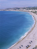 Baie Des Anges  Nice  Alpes Maritimes  Cote d&#39;Azur  French Riviera  Provence  France