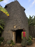 Traditional Beehive House of the Dorze People Made Entirely from Organic Materials  Ethiopia