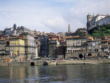 Riverfront  the Douro River  Oporto (Porto)  Portugal