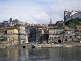 Riverfront  the Douro River  Oporto (Porto)  Portugal