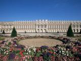 Parterre Du Midi and the Chateau of Versailles  Unesco World Heritage Site  Ile De France  France