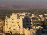 Sultan's Palace  Say'Un  Wadi Hadhramawt  Yemen  Middle East