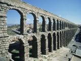 Roman Aqueduct  Segovia  Unesco World Heritage Site  Castilla Leon  Spain
