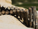 Ammunition Left Behind by the Taliban at Top-I-Rustam  Balkh (Mother of Cities)  Afghanistan