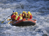 White Water Rafting  Queenstown  South Island  New Zealand