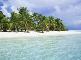 Paradise Beach  One Foot Island  Aitutaki  Cook Islands  South Pacific Islands
