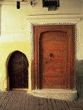 Doors in the Medina  Tangiers  Morocco  North Africa  Africa