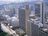 City Skyline  Nairobi  Kenya  East Africa  Africa