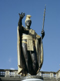 King Kamehameha Statue  Honolulu  Hawaii  Hawaiian Islands  USA