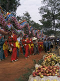 Gathering of Minority Groups from Yunnan for Torch Festival  Yuannan  China