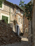 Village Street  Fornalutx  Near Soller  Majorca (Mallorca)  Balearic Islands  Spain