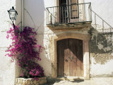 Picturesque Doorway  Altafulla  Tarragona  Catalonia  Spain