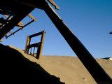 Diamond Mining Ghost Town  Kolmanskop  Namib Desert  Luderitz  Namibia  Africa