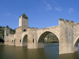 Valentre Bridge  Cahors  Quercy Region  Lot  France