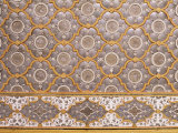 Detail of Fine Mirror and Plaster Work Found in Sheesh Mahal  the City Palace  Jaipur  India