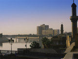 River Tigris  Baghdad  Iraq  Middle East