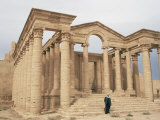 Temple of Mrn  Hatra  Unesco World Heritage Site  Iraq  Middle East