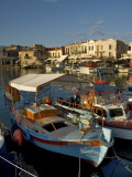 Fishing Boats  Rethymnon  Crete  Greek Islands  Greece  Mediterranean
