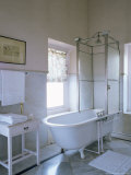 One of the Original Bathrooms from the 1930s and 1940s  Udai Bilas Palace