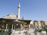 Meylana (Mevlana) Museum  Rumi's Grave  Konya  Anatolia  Turkey