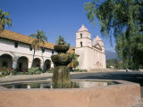 Old Mission  Santa Barbara  California  USA