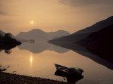Loch Duich  Highlands  Scotland  United Kingdom